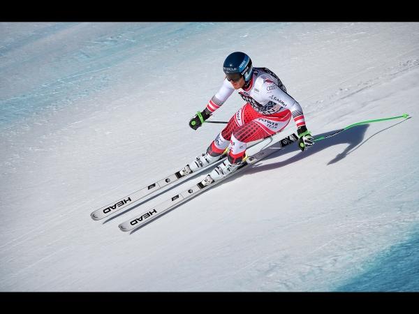 1st, Andrew Charlesworth CPAGB, Downhill Skier Christian Walder
