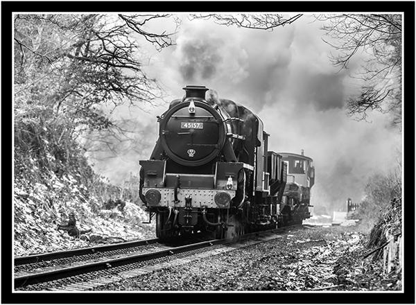 Winter Goods Train